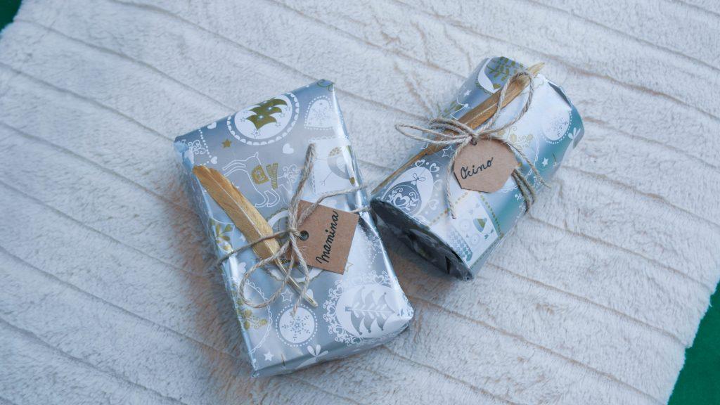balenia darčekov