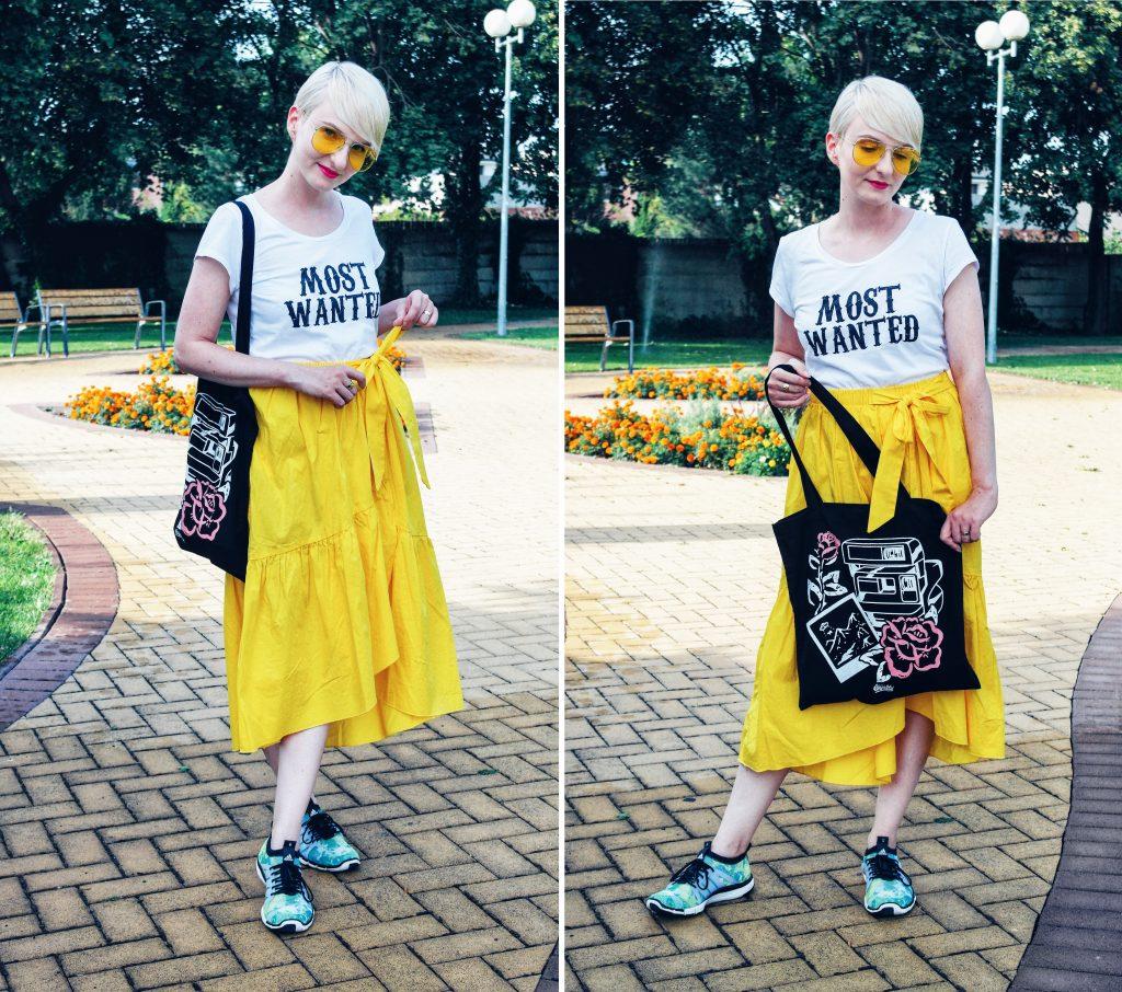 žltá sukňa a fake loyalty