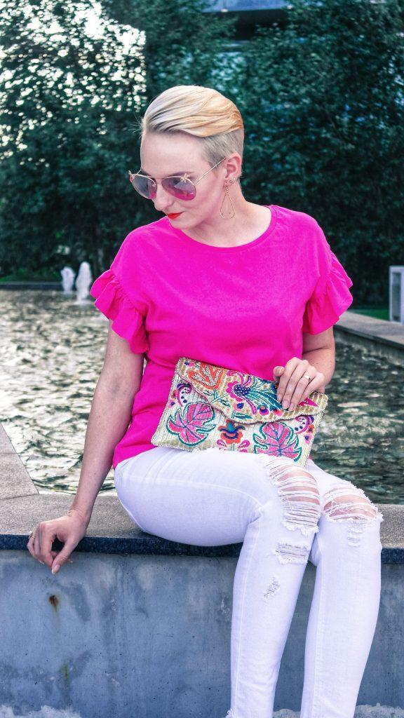 farebný outfit