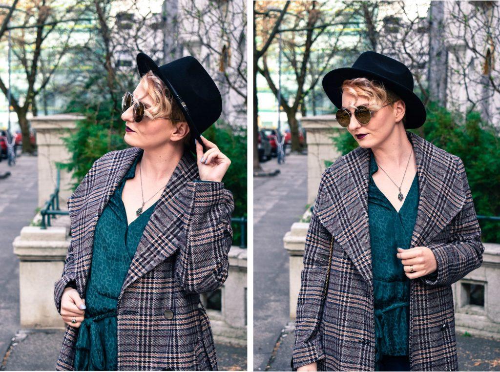 kabát a klobúk