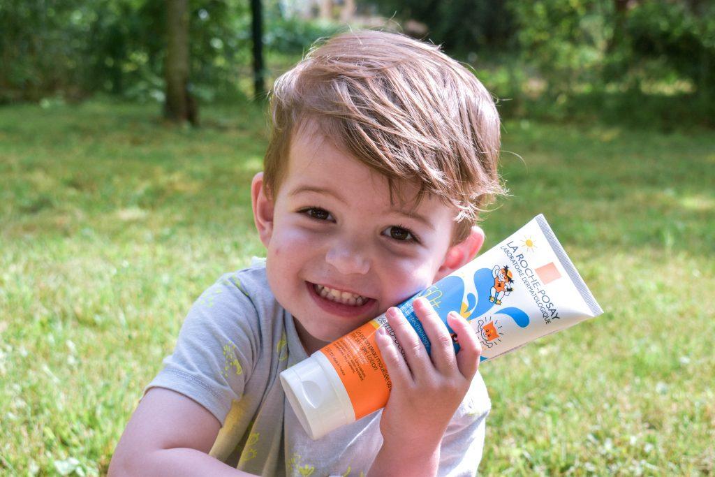 detský opaľovací gél na mokrú aj suchú pokožku