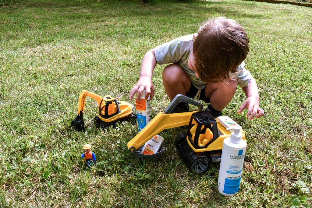 ochrana citlivej detskej pokožky pred slnkom